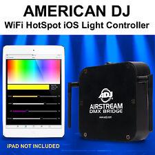 AMERICAN DJ AIRSTREAM BRIDGE DMX WiFi HotSpot iOS APP Controller