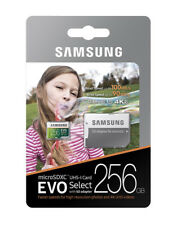 Samsung 256GB Micro SD XC Flash Memory Card Class 10 for Phone Camera Mp3
