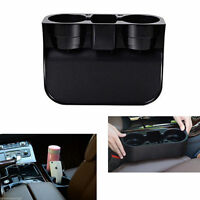 Car Seat Seam Wedge Cup Holder Food Drink Bottle Mount Stand Storage Organize S&