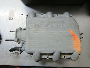09H012 Upper Intake Manifold Plenum 1994 Dodge Caravan 3.0