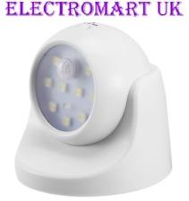 360° BATTERY POWERED SMD LED MOTION SENSOR SECURITY PIR LIGHT GARDEN OUTDOOR