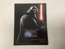 Ultimate Sith Edition Star Wars Force Unleashed Collectors Cards Set Of 10