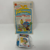 Vintage 1992 McDonalds Food Fundamentals Happy Meal Bag and 1 Unopened Otis Toy