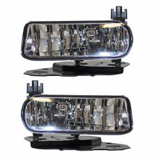 New Pair of Clear Fog Lights for 2002-2006 Cadillac Escalade