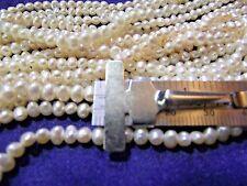 Beautiful 3 mm Fresh Water Ivory Pearls 1 strand P lot 001