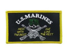 U.S. Military Marines Usmc Mess Best Flag Wholesale lot of 6 Iron On Patch