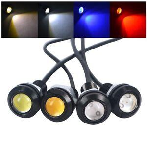 LED Eagle Eye Daytime Running DRL 12V 10W Car Motorcycle Tail Light Lamp 16mm