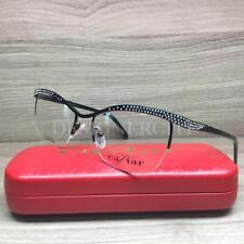 Caviar M4402 4402 Eyeglasses Black with Swarovski Crystals C24 Authentic 53mm