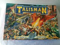 Games Workshop Talisman Fantasy Game + Dungeon of Doom Expansion Incomplete 1994