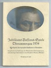 Sammeln & Seltenes Bühne 19788-1 Oberammergau Ansichtskarte Autogramm Willy Bierling Passionsspiele 1934