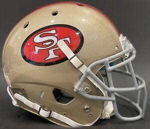 San Francisco 49ers Throwback Game Style Schutt XP Helmet L