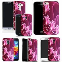 Motif case cover for All popular Mobile Phones - floral signature