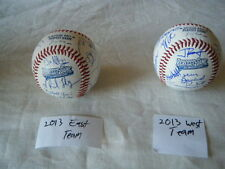 2013 PERFECT GAME ALL AMERICAN AUTOGRAPH BALL LOT DEREK HILL JACK FLAHERTY ++++