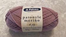 Patons Patonyle Merino 4 Ply #1032 Light Lilac Sock Yarn 50g