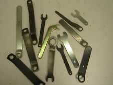 Large Lot of Vintage Flat Wrenches Power Tool Bicycle Kit 13 Pieces