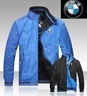 chaqueta reversible con logo BMW veste giacca jacke jacket car Wendejacke