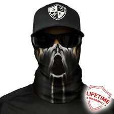 MOTORCYCLE FACE MASK - THE SHADOW - (Moto, Hunting, Fishing, Paintball)