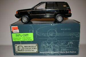 Brookfield 1994 Jeep Grand Cherokee Limited, Black, Boxed 1/25 Scale