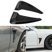 2pcs Universal Car Decorative Shark Fin Intake Scoop Side Fender Sport Sticker