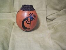 """Gourd art by Don Weeke 10"""" tall"""