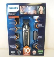 NEW Philips Norelco Multigroom Pro Trimmer Series 7000 with Pouch QG3396/16