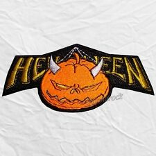 Helloween Logo Embroidered Big Patch Rock Band Michael Weikath Heavy Metal