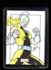 Marvel Heroes & Villains Daniel  Horn Da Rosa sketch card