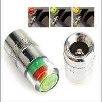 4 X Auto Reifenmonitor Ventil Staubkappe Druckanzeige Sensor Augenalarm