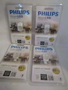 4 PHILIPS Accent LED Indoor Capsule 170 Lumens Soft White Bulbs G4 PIN #821434