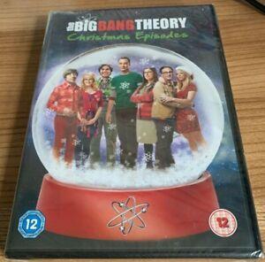 The Big Bang Theory Christmas Episodes DVD (2008) NEW/SEALED Region 2 UK Cert 12