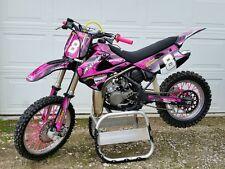 2001 - 2013 KX 85 100 graphics kit Kawasaki KX85 KX100 #2001 Hot Pink
