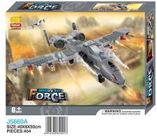 Woma A-10 Warthog Jet Bausteine Set 384 Teile Flugzeug J5660A