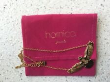 collier Hornica jewels aigle plaqué or neuf