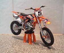 TOY MOTOCROSS BIKE MODEL 1:12 RYAN DUNGEY RED BULL KTM #5 SXF 450 XMAS GIFT 2014