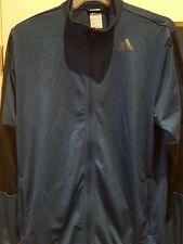 MENS AUTHENTIC ADIDAS LONG SLEEVED ZIP TOP/JACKET SIZE 38/40