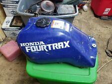 Honda Fourtrax 1990 300 4X4 Blue Fuel Tank, Gas Tank