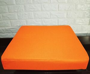 PL05t Orange Specialist Water Proof Outdoor Box Seat Cushion Cover*Custom Size