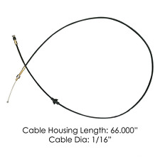 Volvo Truck Hood Release Cable All VN models with Gen1 & Gen 20462437