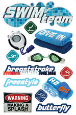 Paper House 3d Stickers Swimming Stdm0127