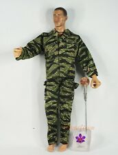1:6 Action Figure US Marine Vietnam Camo Tiger Strip Flight Suit Uniform DA175