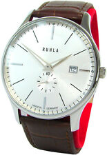 RUHLA CLASSIC made in Germany da Uomo in Acciaio Inox Orologio Mens Watch SWISS MOVT guardia