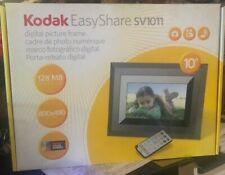 "Kodak EasyShare SV1011 128MB 10"" Digital Picture Frame Built In Speakers"