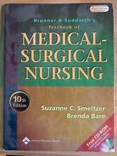 Brunner & Suddarth's Textbook of Medical-Surgical Nursing 10th Ed, with CD inc