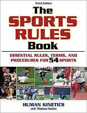 The Sports Rules Book-ExLibrary