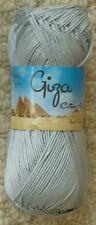 King Cole Giza Cotton 4 Ply 2193 Silver
