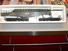 ++ B1385 H0 Lima 303500 Eisenbahngeschütz Leopold mit 12 Achsen NEU