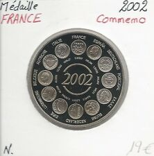 MEDAILLE Commémorative - EUROPA - L'Euro - Essai - Qualité: NEUVE // 2002