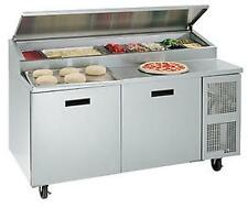 Randell 8268NPCB 68in Wide Two Door Pizza Prep Table w/ Cutting Board