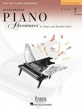 Accelerated Piano Adventures for the Older Beginner Lesson Book 2 NEW 000420231