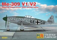 RS Models 1/72 Messerschmitt Me-309V-1 and Me 309V-2 # 92201